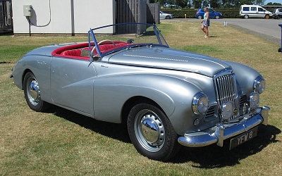 Glorious 1953 Sunbeam Alpine