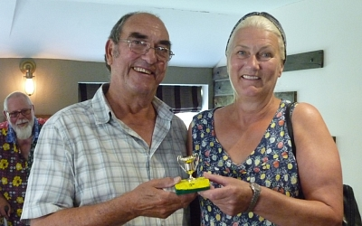 Andy & Gill were the winners - congratulations to them both