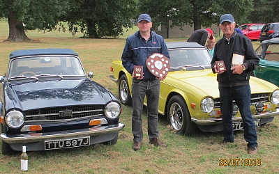 Victorious '6 owners Dave and Roger.