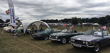Kennet Valley TR Group enjoy a day at RetroFest Newbury