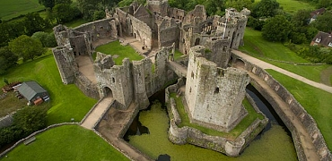A visit to Raglan castle on Sunday 30th September