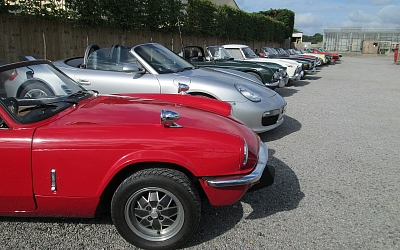 The line-up at Huntley Garden Centre
