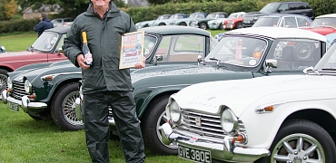 TR Register wins Best Club of the Day in the Club Village at the Castle Combe Autumn Classic