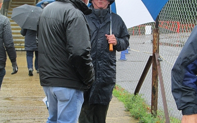 One of these two Glavon chaps came prepared for the weather, the other.......didn't!!