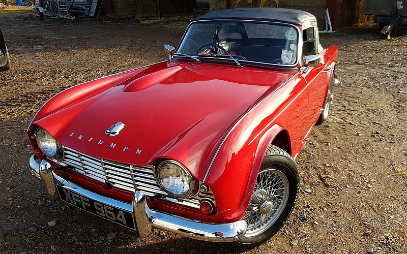 For Sale Triumph Tr4 1962