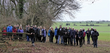 Glavon New Year Walk - 6th January 2109