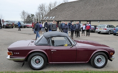 Simon and Sue Brown's immaculate TR6
