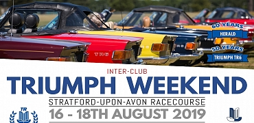 The Inter-club Triumph Weekend 2019