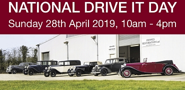 Ridgeway Group Drive it Day run to Fiennes Restoration Workshop