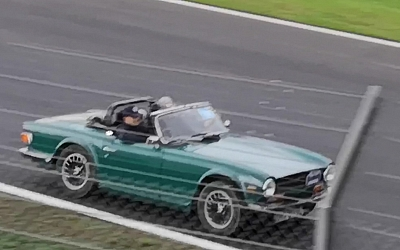 Screen grab of Cornish TR on Silverstone GP circuit.