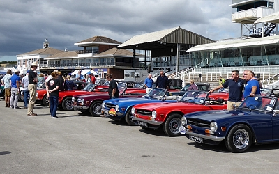 TR6s celebrate their 50th anniversary