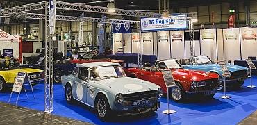 TR Register at the NEC Classic Motor Show