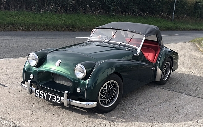 1954 TR2 as purchased in September 2018