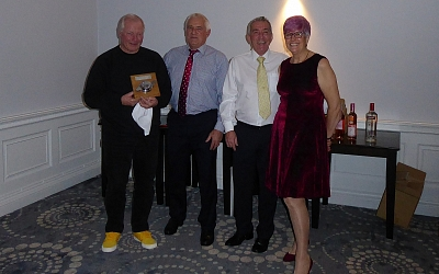 Noel Jones wins the 'Group Leader's Award'