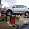 Car Lift - Up in the air