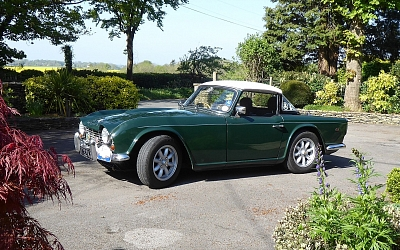 Andy and Jill West's TR4