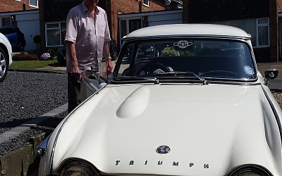 Roger and Pauline Anderson's TR4A