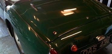 TR3 1957 RSA car - stationary since 2005!