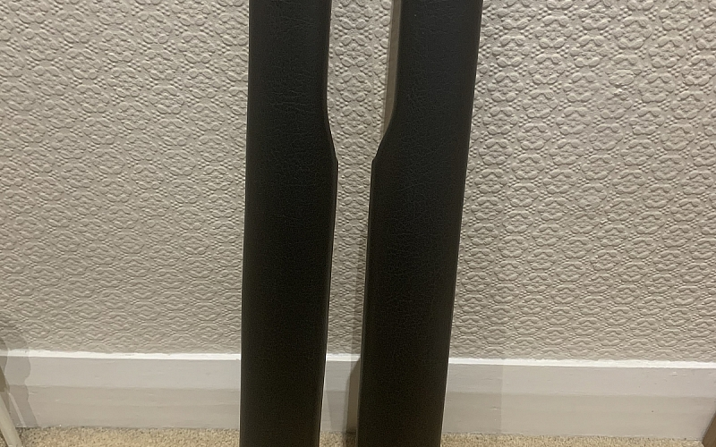MGB Black Vinyl Door Capping's - never fitted/as new.