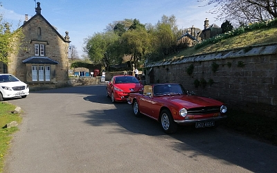 ...and finishing at Edensor for a coffee!