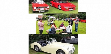 KVG enjoys an afternoon at the Classic Show at the George & Dragon