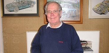 Graham Robson, Honorary President of the TR Register and Former Triumph Works Competition Secretary passes away aged 85