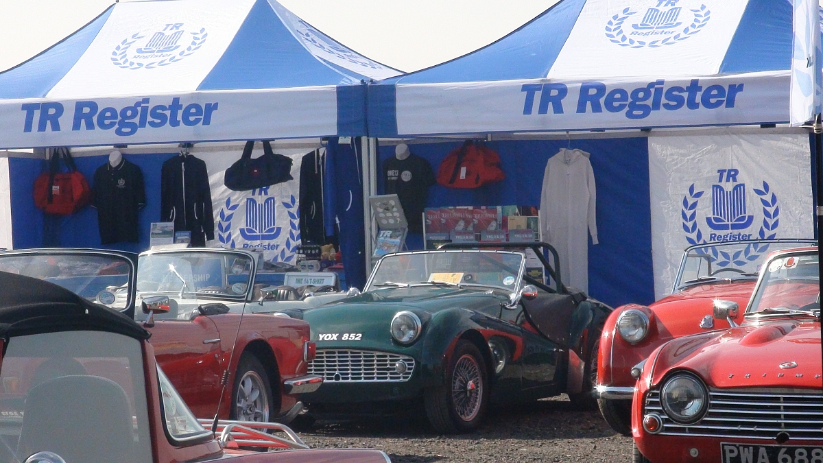 TR Register wins Best Club Stand at Donington Historic Festival 2013