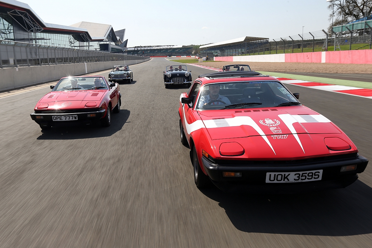 Silverstone Classic 2015 - A Triple Triumph Celebration