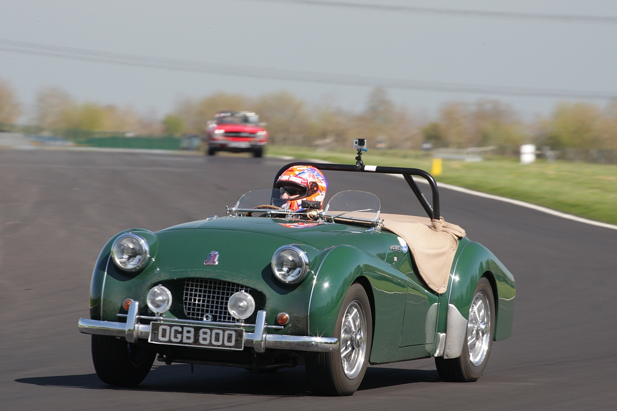 TR Track Day at Castle Coombe