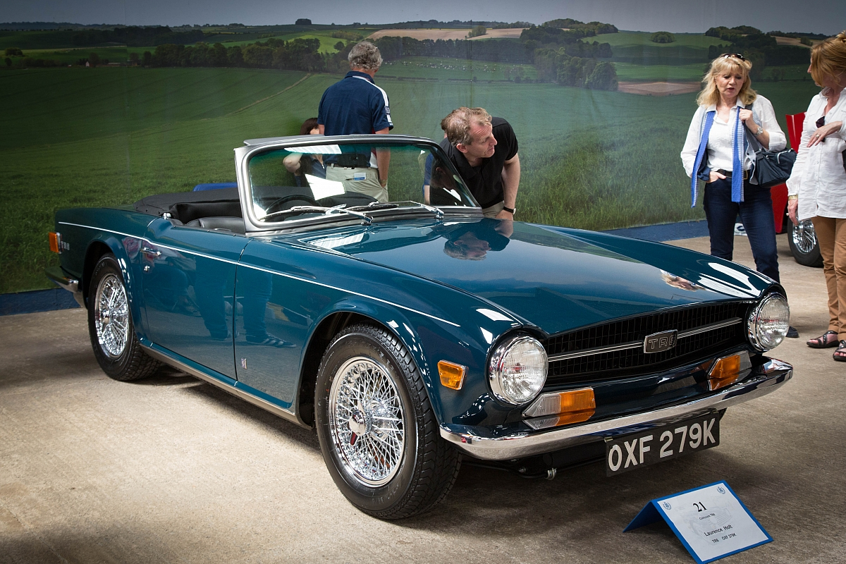 Parts Of Cars >> TR Register Buyers Guide to the Triumph TR6