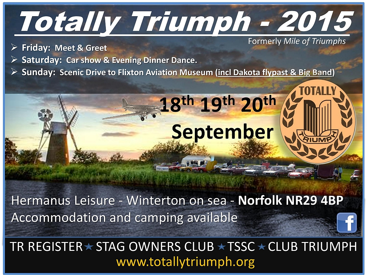 Totally Triumph Weekend