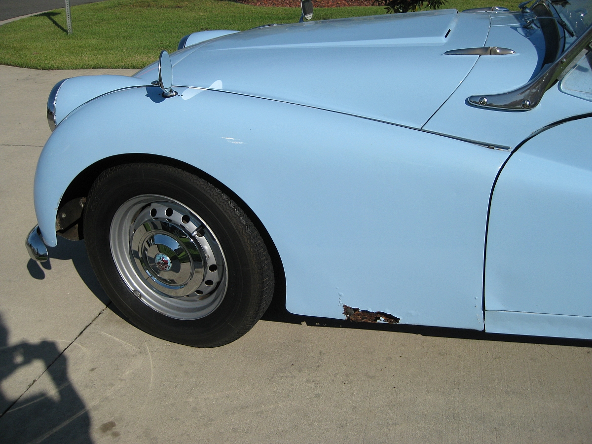 1960 TR3A Restoration - The evaluation