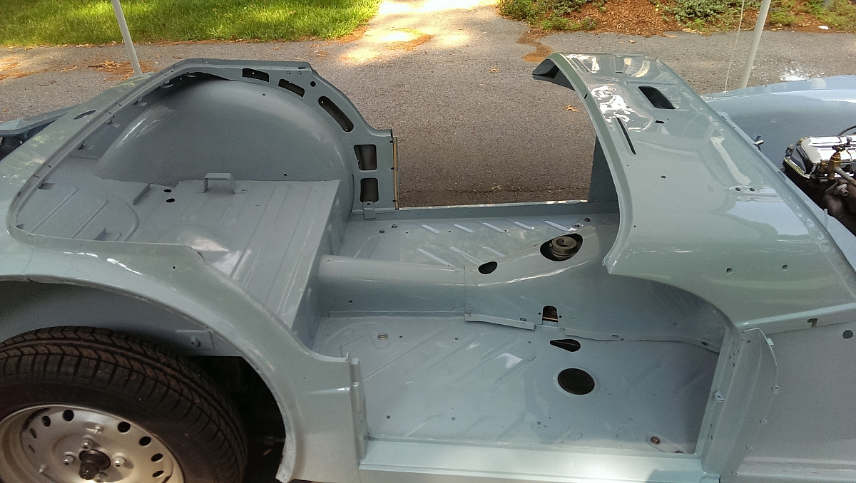 1960 TR3A Restoration - Replacing the floor pans