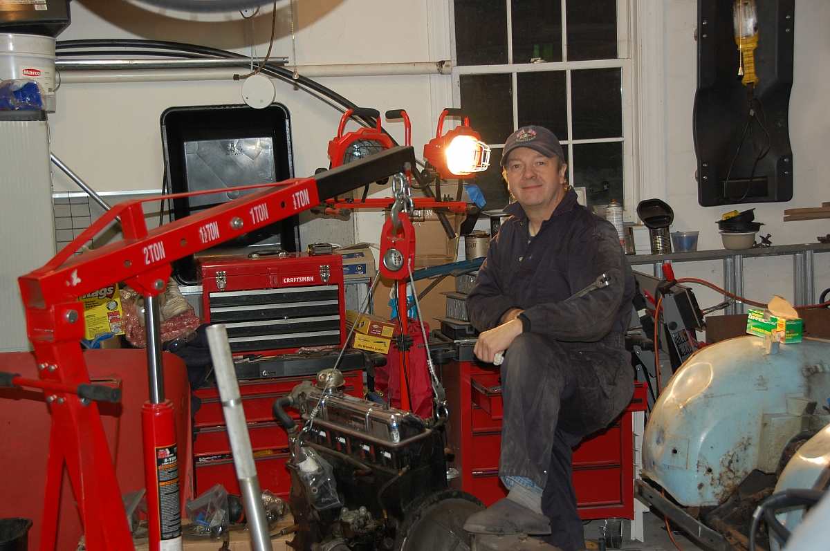 1960 TR3A Restoration - Wrapping up 2011