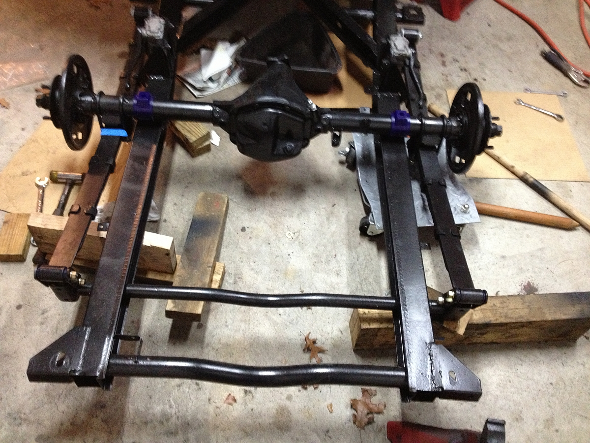 1960 TR3A Restoration - Rear axle refurb