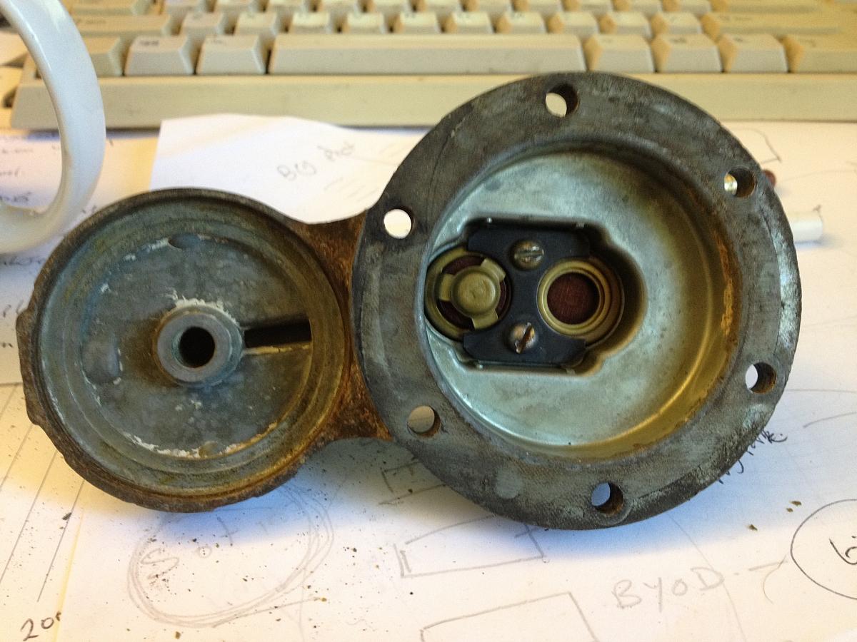 1960 TR3A Restoration - Fuel pump and poor mans soda blaster