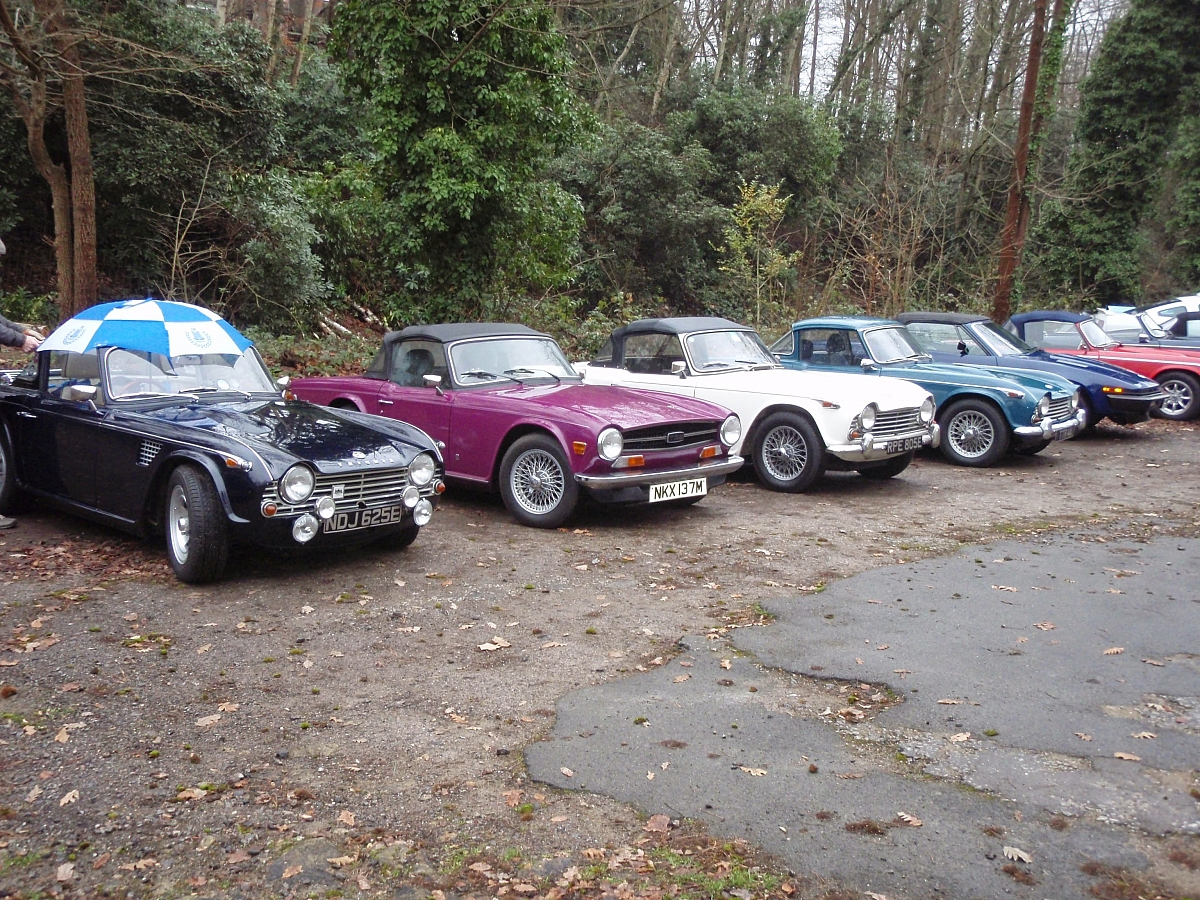 London Group at Brooklands New Years Day Gathering
