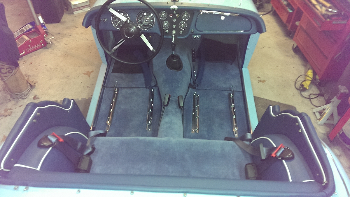 1960 TR3a Restoration - Cockpit Capping