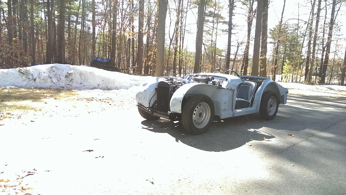 1960 TR3a Restoration - Overdrive setup and test drive