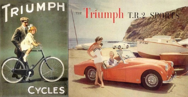 "Kennet Valley TR Group enjoy a talk by Hywel Lloyd - ​""From bicycles to the Triumph TR2!"""