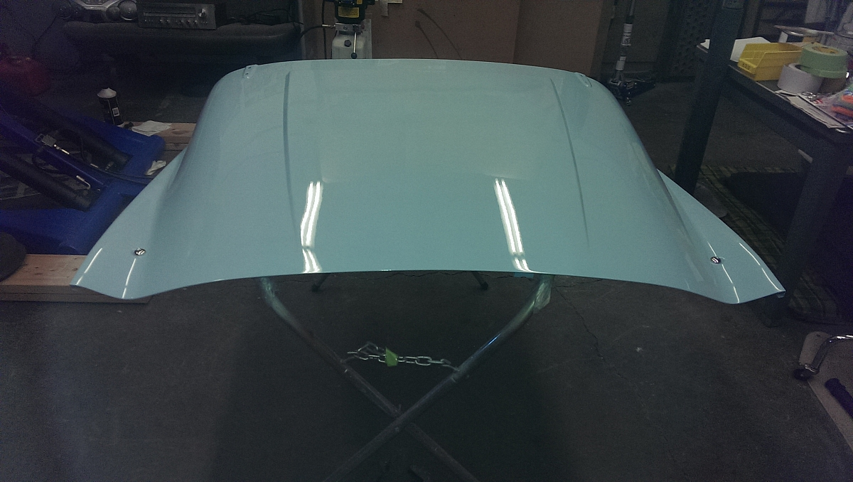 1960 TR3a Restoration - The Bonnet