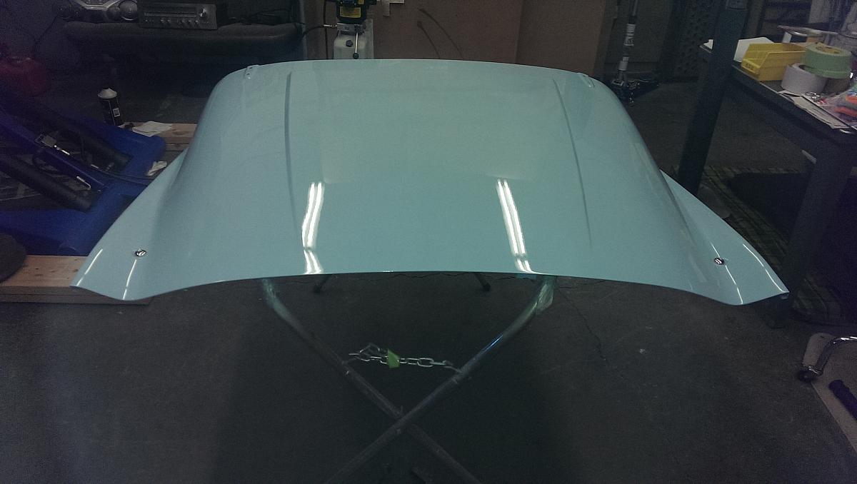 1960 TR3a Restoration - The Bonnet