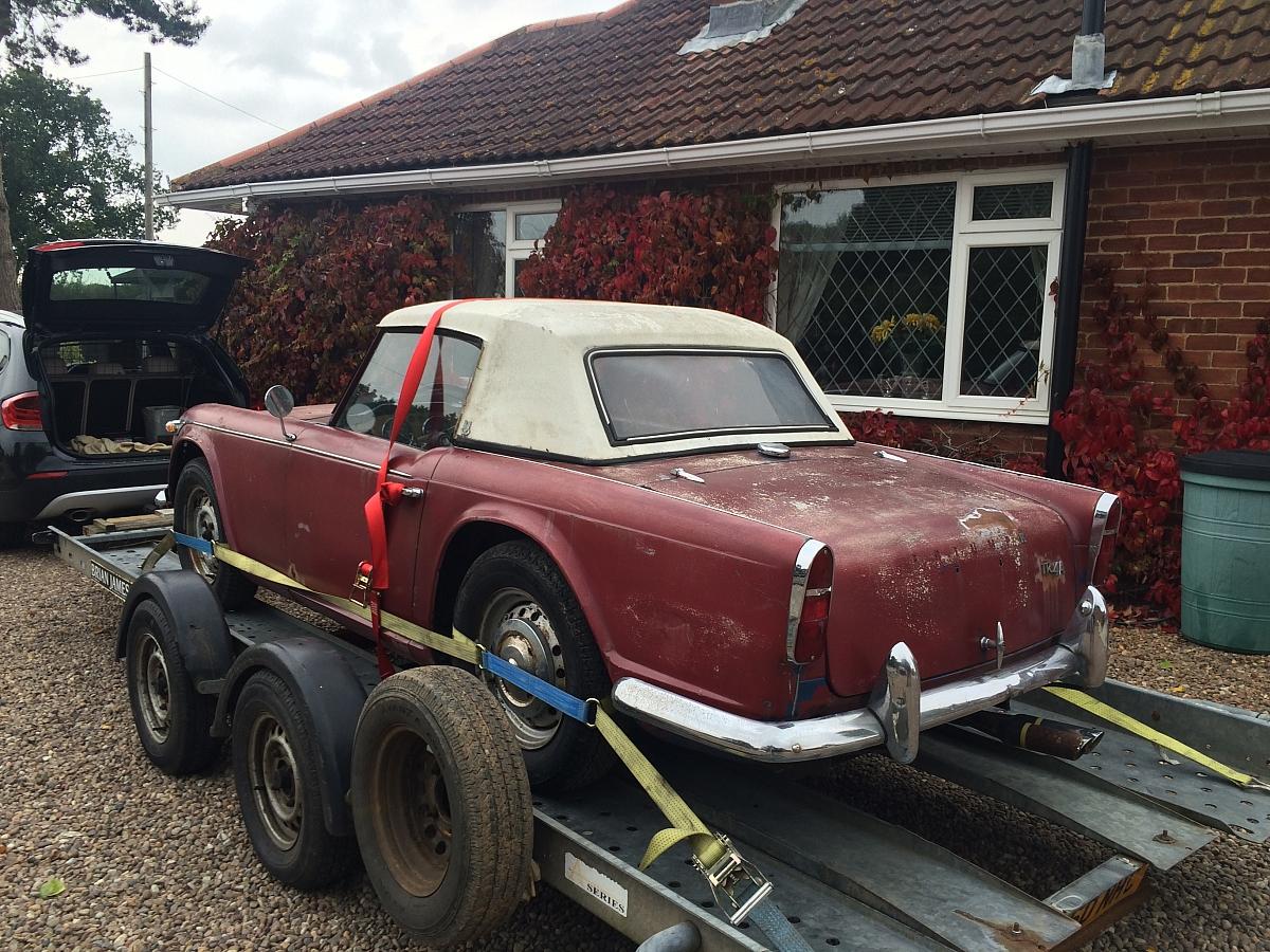 1966 TR4A Restoration