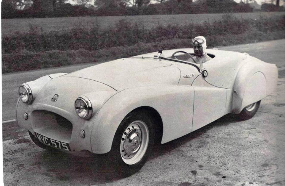 A record breaker restored - Jabbeke Triumph TR2 returns
