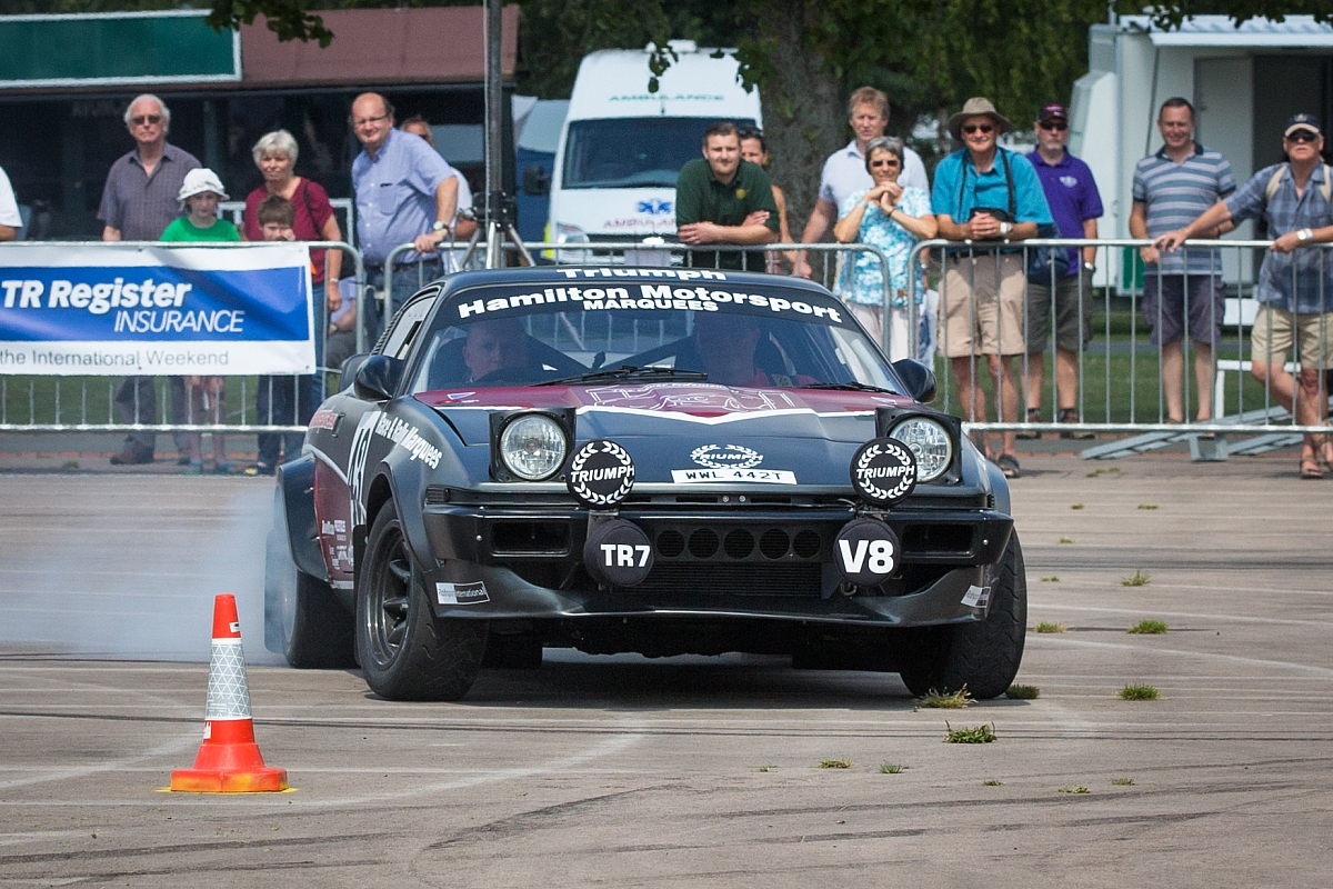 Unique Triumph TR7V8 enters the MN Circuit Rally Championship