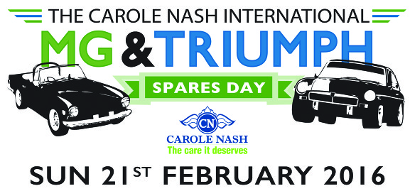 MG and Triumph Spares Day 2016