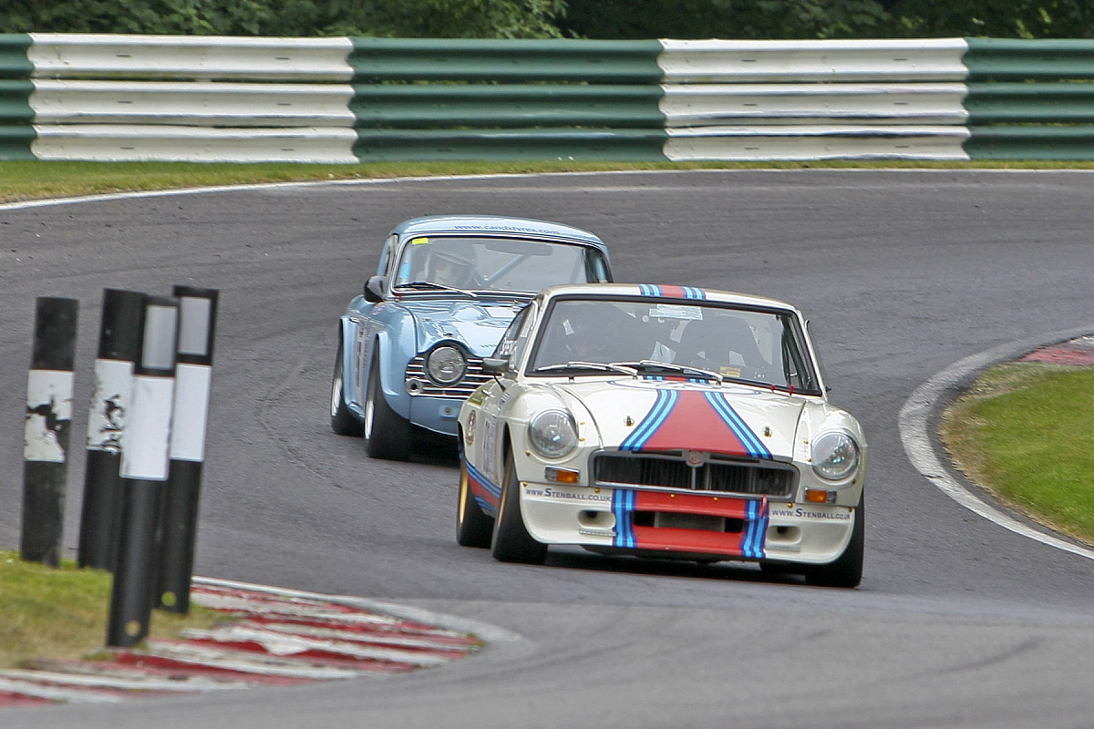 TR Lincs Group Classic Racing Run to Cadwell Park