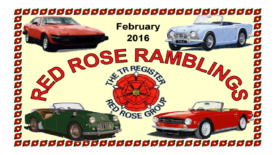 Red Rose Ramblings February 2016