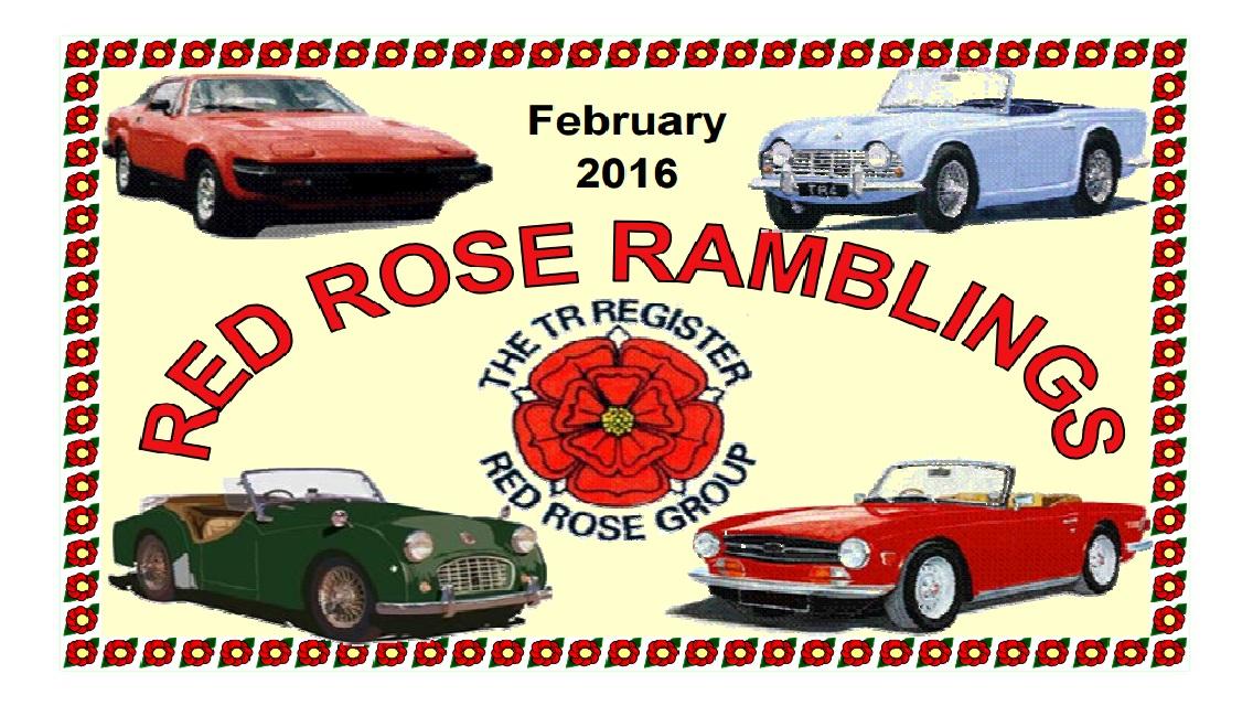 Red Rose Ramblings February 2016