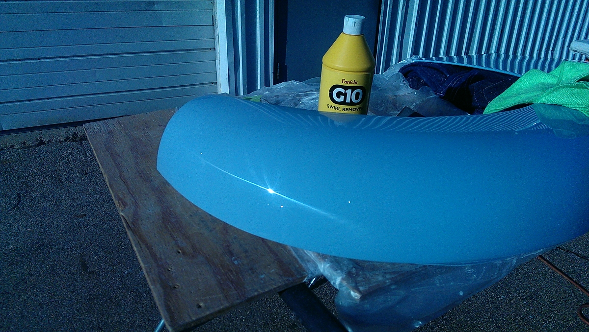 1960 TR3a Restoration - Finishing the front wing story